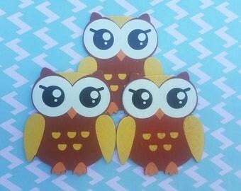 Wooden Owl Figures, Figuras de Madera de Buho, Wooden Owls, Buhos De Madera, Party Supplies, Party Favors, CenterPieces,