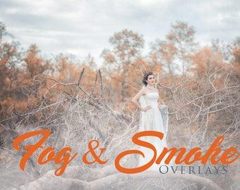 20 Fog and Smoke Overlays,  Photoshop Overlay, Mist overlays, Fog overlay, Smoke overlay, Cigarette Overlay, Photo Effect, Digital backdrop