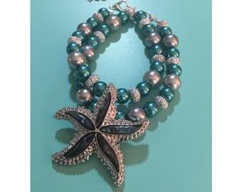 Starfish Bangel Set