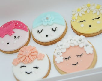 Birthday Gift, BFF Gift, Bespoke Cookies, Party Favours, Hen party, Thank you Gift, Girl Squad, Flower Girls, Bridesmaid, Prom favour, Perso
