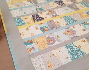 Winnie the Pooh and Friends tumbler  baby quilt