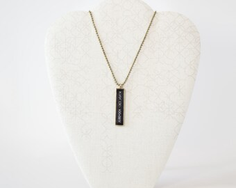 """Brass Ball Chain 18"""" (Necklace only)"""