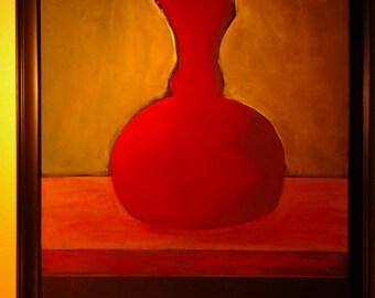 My empty wine jug