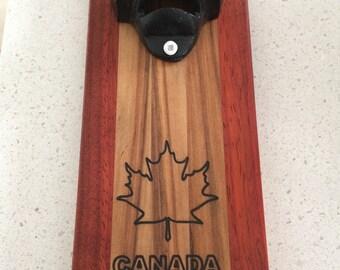 Bottle Opener - Canada