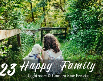 23 Happy Family Lightroom and Adobe Camera RAW Presets