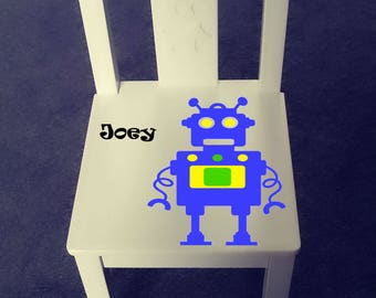 Personalized kids chair - Robot
