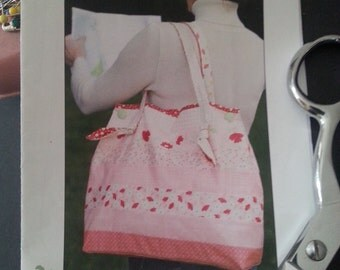 Bag Tote Jelly Roll Paper Pattern