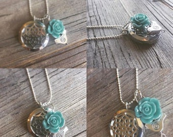 """Essential Oil Diffuser Necklace 