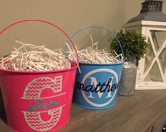 Easter Bucket, Personalized