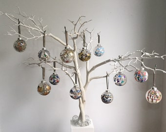 Twelve Days of Christmas Bauble Collection
