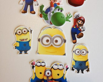 Minions Cupcake and Cake Toppers Birthday Party Supplies