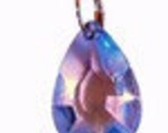 10 PK Dk Blue Teardrop Crystals, acrylic wedding chandelier crystals