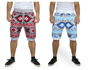 Slim Aztec Printed Shorts (PSR-19)