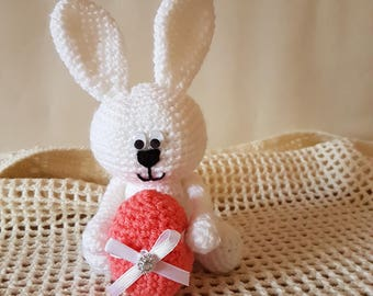Easter Bunny crochet, amigurumi, handmade, Easter.