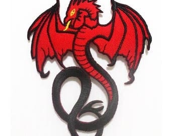 Red Dragon fire Patch.