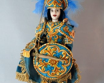 "Traditional Sicilian Puppet ""Angelica"""