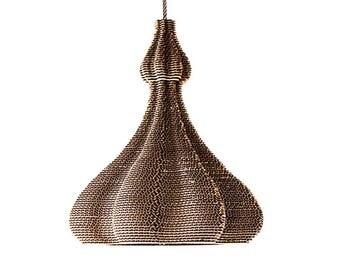 2026 lamp of corrugated cardboard