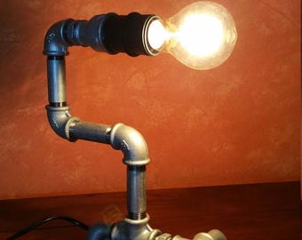 Pipe lamp - lamp from water piping * unique *.