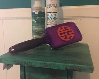 Monogrammed Hairbrush