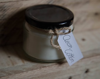 Clean Cotton Scented Candle - Jar