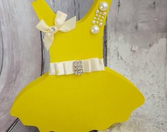 Decorative personalised Bridesmaid Tutu keepsake