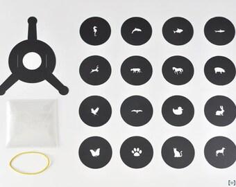Bokeh Kit, 16 Animals shapes+holder. Universal Photo Camera Filter 35-70mm