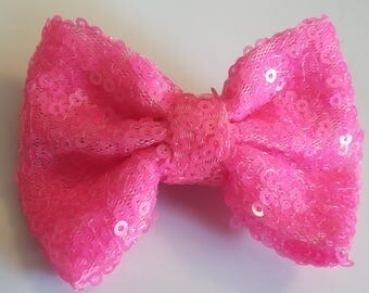 3 Inch Sequin Bow