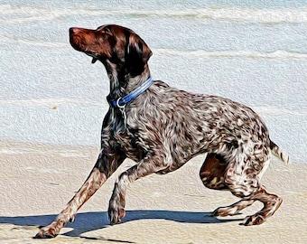 Digital Painting Pet Portrait