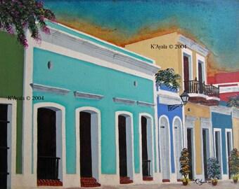 Old San Juan Streetscape
