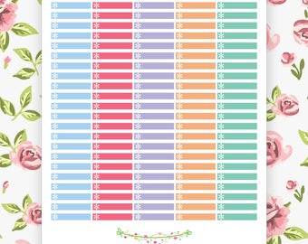 Printable Labels Planner Stickers