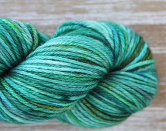 I'm Very Fond of Walking • Worsted Weight - Superwash Merino - Speckled Yarn - Hand Dyed Yarn - Variegated Yarn - Semisolid Yarn