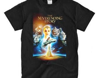 The Neverending Story Poster black T-shirt