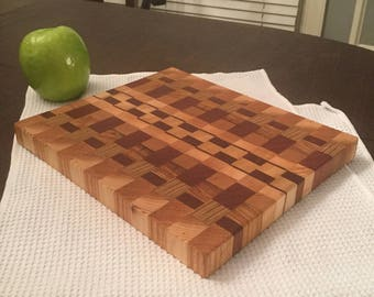 Mixed End Grain Cutting Board