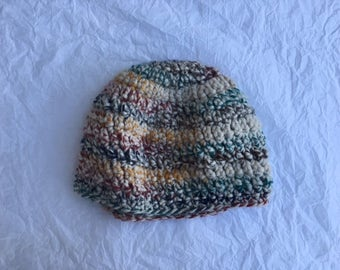 Large crochet hat