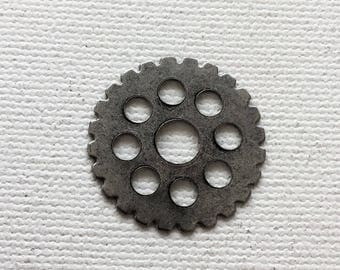 Lot of aluminum gear charms