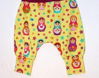3m-6m cotton harem pant