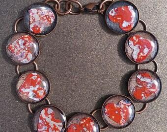 Multi-bezel Link Bracelet