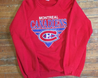1992 NHL Montreal Canadiens Pullover Sweater