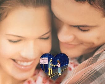 SALE: A Walk To Remember Enamel Pin-You're In Two Places At Once