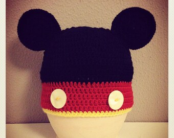 Mickey Mouse hat for child