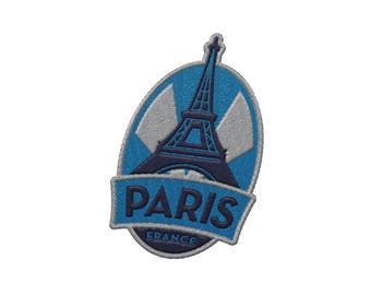 Paris France Travel Patch