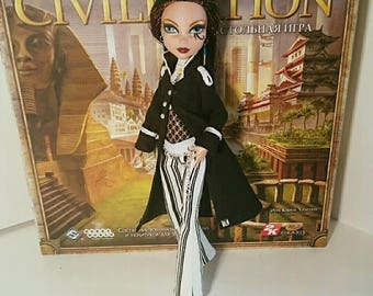 Monster high steampunk military suit