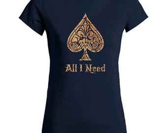 Ace Of Spades T Shirt Women