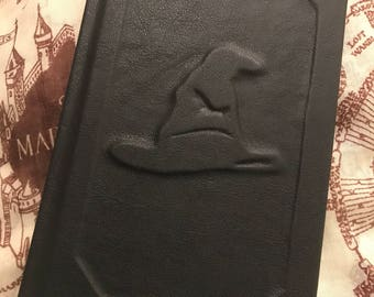 Harry Potter and the Sorcerers Stone Hand Bound Leather Book