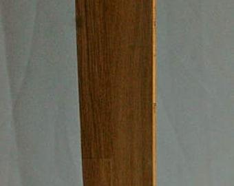 Oak Tower Led Floor Lamp