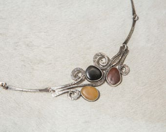 Creek Bed Stone Necklace