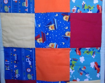Baby quilt for little babies / changing pad for diaper bag