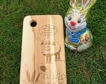 Easter Chopping Board