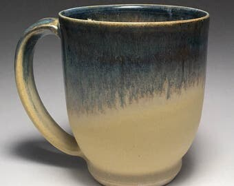 Blue and Yellow Mug