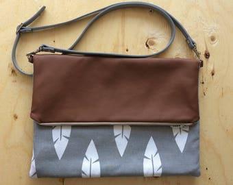 Large fold over bag